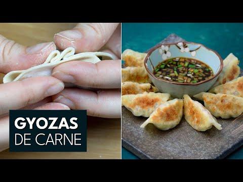 Receta Gyozas ➡ Masa y relleno - Auténticas y fáciles | Cocina Japonesa