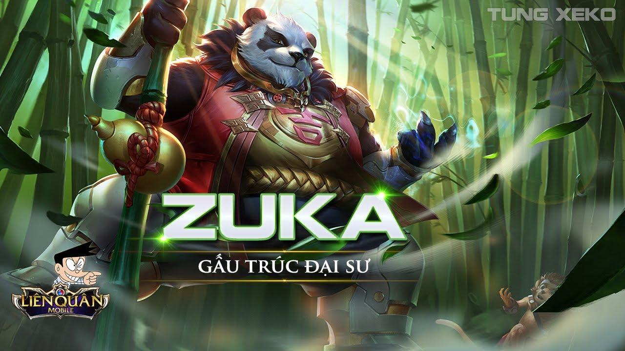 Hướng dẫn chơi và lên đồ Zuka Đại Sư Gấu Trúc - Liên Quân Mobile – Realm of Valor