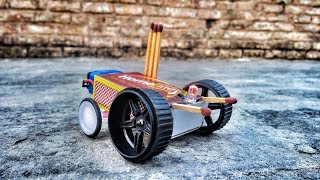 How To Make Powerful Mini Matchbox Toy Car At Home - Mini Car