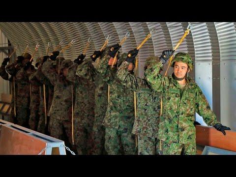 第1空挺団(陸上自衛隊) アラスカで模擬降下訓練 - 1st Airborne Brigade (JGSDF) Mock Door Training in Alaska