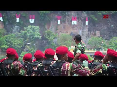 Keren!! Dirgahayu TNI ke-72 'Bersama Rakyat TNI Kuat'