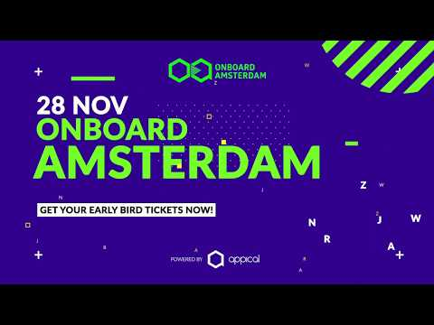 Onboard.Amsterdam 2019 - World's leading Onboarding conference - Teaser