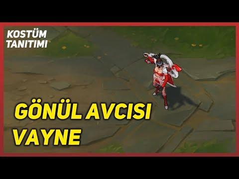 Gönül Avcısı Vayne (Kostüm Tanıtımı) League Of Legends