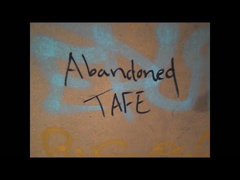 Exploring Abandoned Tafe In Adelaide