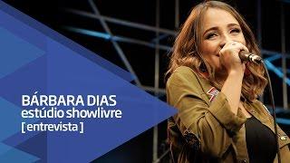 """Baixar Produção do EP novo, """"9 Meses"""" e os fãs - Bárbara Dias no Estúdio Showlivre 2016"""