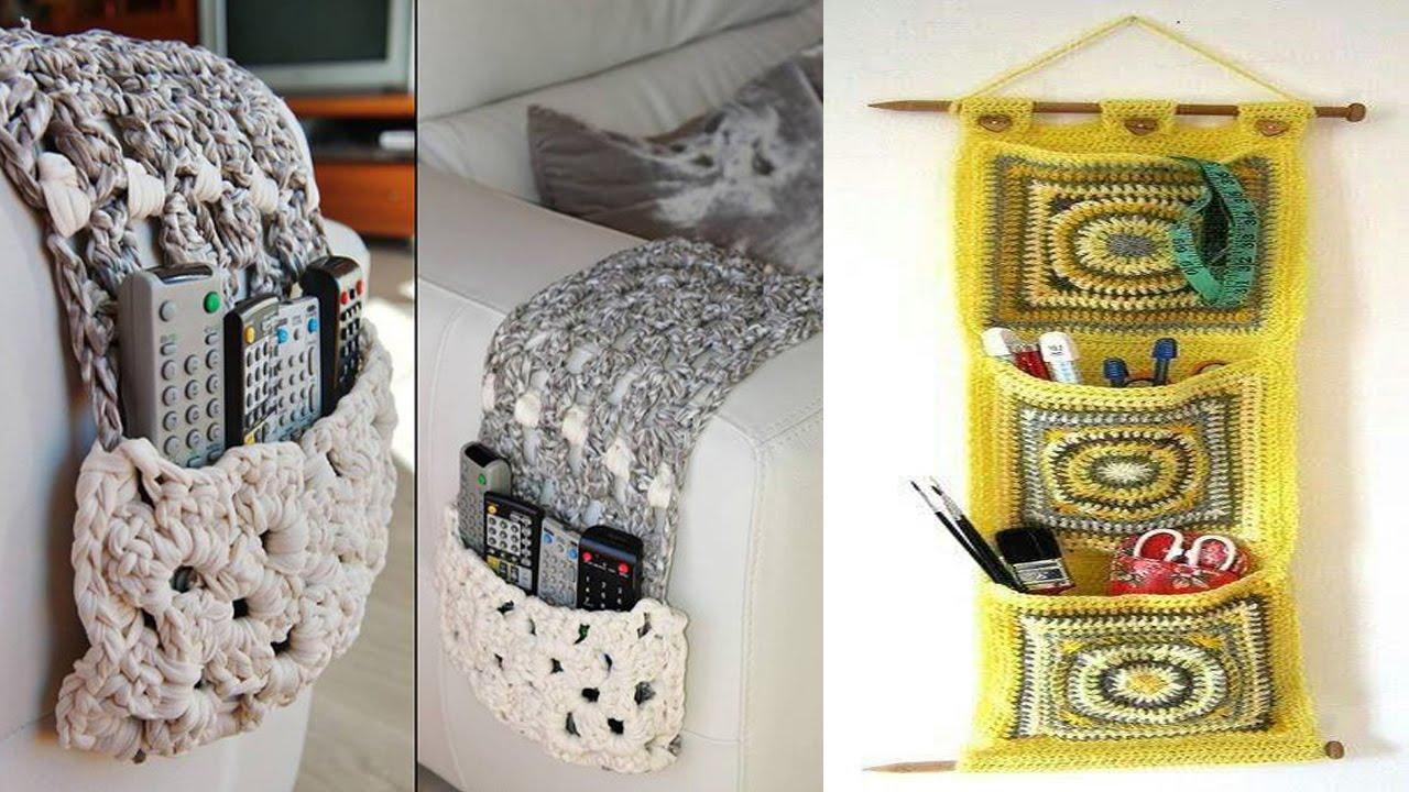 Organizadores para ba o living habitacion tejidos en for Decoracion del hogar con crochet
