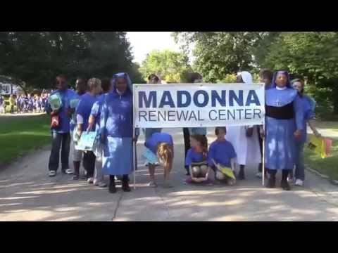 Madonna Renewal Center Homecoming Parade