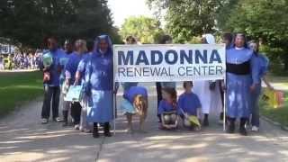 Madonna Renewal Center Homecoming Parade