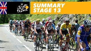 Summary - Stage 13 - Tour de France 2017