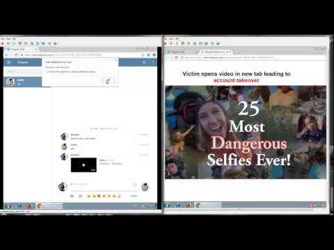Demo of Telegram Web Account Takeover | Hack Demonstration | Cyber Security