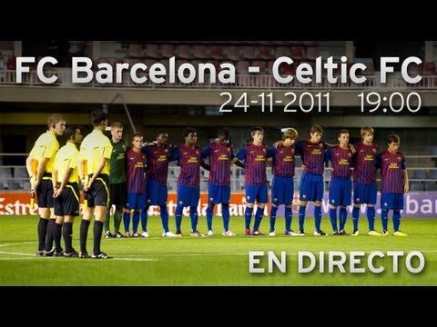 En Vivo FC Barcelona Juvenil A del dominicano Carlos Martínez 2:00 PM hoy jueves