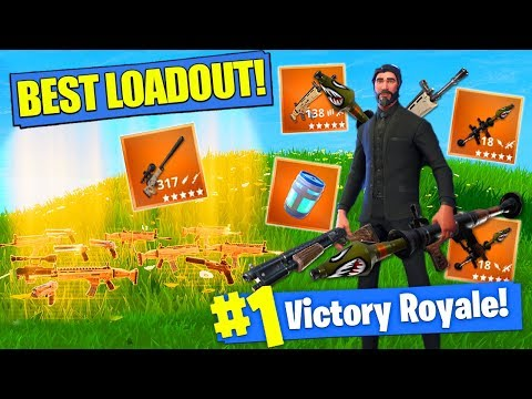 Getting The BEST LOADOUT In Fortnite Battle Royale!
