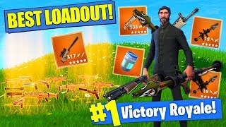 Obtenir le meilleur LOADOUT dans Fortnite Battle Royale!