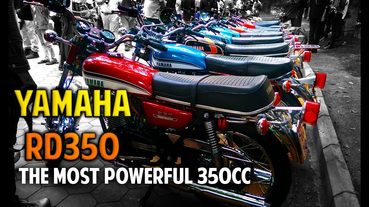 Yamaha Rd350 Revving - Exhaust Note - Hyderabad Vintage Show