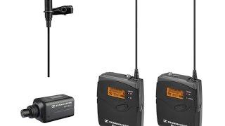 Обзор и тест беспроводного микрофона Sennheiser EW 100 ENG G3 из магазина VISmedia.ru