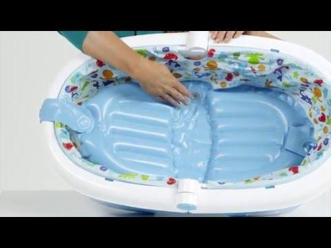 Fold Away Baby Bath Test Et Avis De La Baignoire De Nouveau Ne