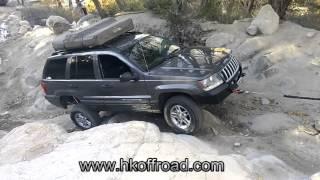 hk offroad winch bumper durability test jeep grand cherokee wj