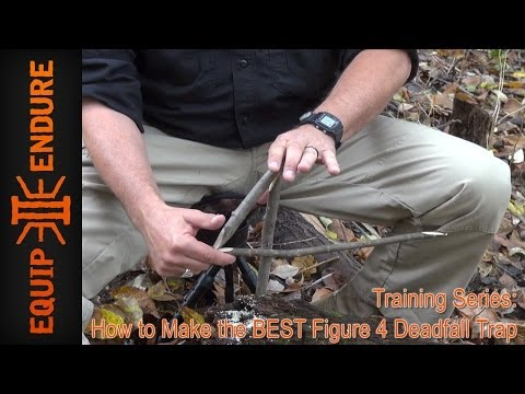How to Build the Best Figure 4 Deadfall Trap by Equip 2 Endure