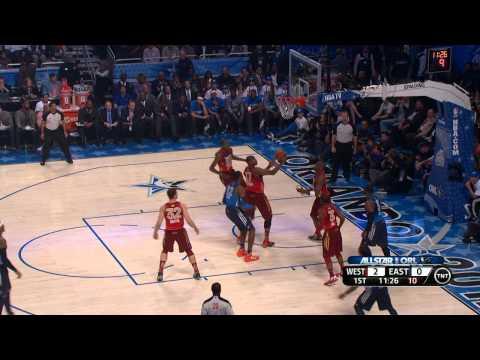 2012 NBA All-Star: Bynum Blocks Howard