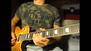 Kings of Leon - Rock City guitar cover (solo parts)