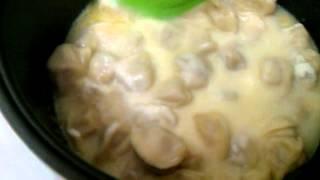 пельмени под сыром в мультиварке