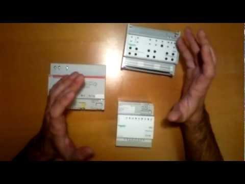 Schemi Elettrici Base Per Principianti : Corso di domotica knx per principianti lezione youtube