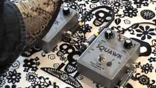 Plumcrazy FX SQUAWK comparison fuzz booster guitar effects pedal demo