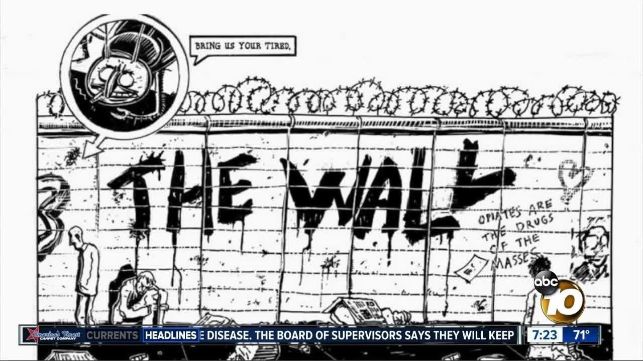 1990 comic predicted Trump's wall?