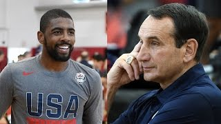 "Coach K Says ""F*ck You"" to Kyrie Irving at Team USA Practice"