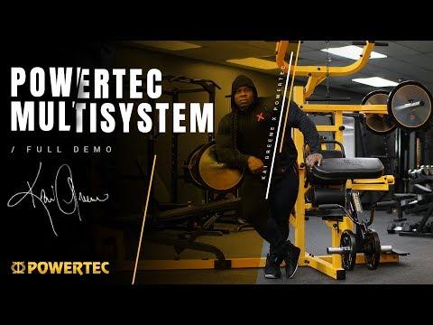 Powertec Multisystem | Full Demo - With Bodybuilder Kai Greene