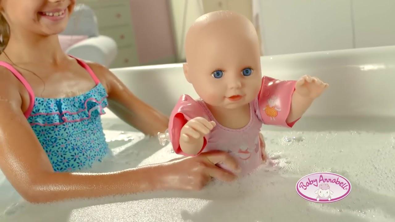 Baby Annabell® Learns to Swim Werbung Werbespot 2017 - YouTube