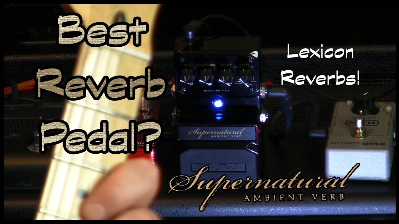 World's Best Reverb Pedal? Lexicon / Digitech Supernatural Ambient Verb