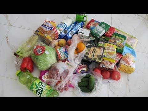 Что можно купить в супермаркете на 60$ Украина