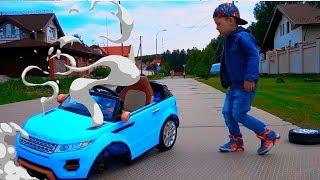 Senya and his Broken Car