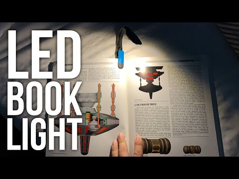 How To Read In The Dark With The Energizer Clip-On Book Light