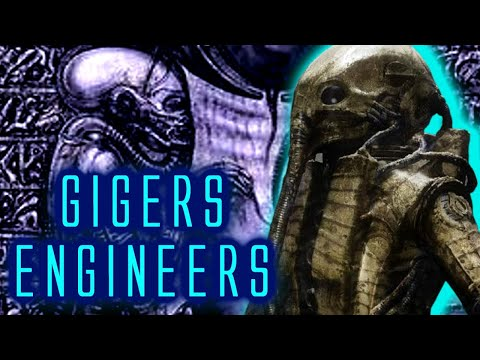 HR Gigers Engineers! Prometheus Engineers Inspired from 40 Year Old Mural?