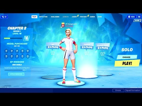 SWEATY SOCCER SKIN In CHAPTER 2! 4,000 Wins TOP CONTROLLER PLAYER! (Ps4/Xbox Fortnite Solo Tips)