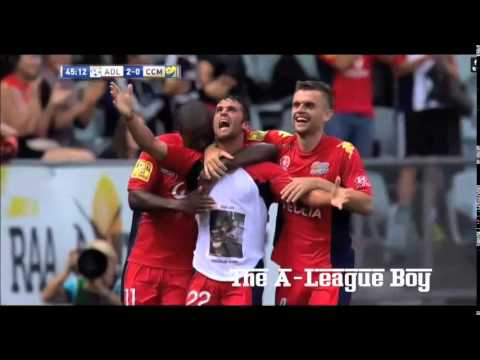 Fabio Ferreira all goals for Adelaide United