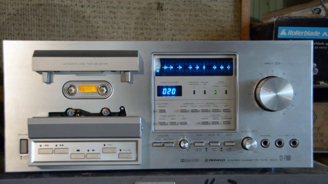 Riemen Belts for Pioneer CT-F850 CT-F 850 Tape Deck