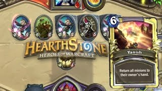 Hearthstone - Vanish for the win