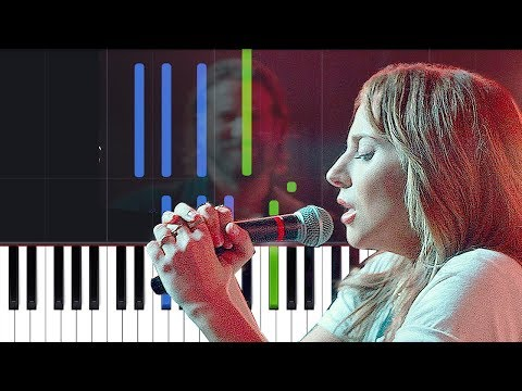 "Lady Gaga - ""Is That Alright"" (A Star Is Born) Piano Tutorial"