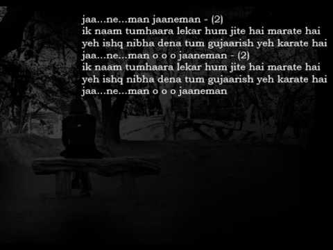 Jaaneman(Radio)Full Song With Lyrics HQ