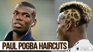 Paul Pogba Best Hairstyles & Haircuts (New-2018) Paul Pogba Haircuts Transformation