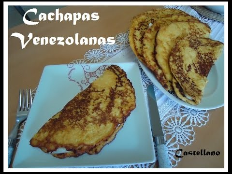 Cachapas Venezolanas receta fácil.