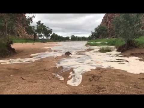 Todd River in Alice Springs