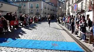 III Vuelta a Los Jardines de La Granja de San Ildefonso. Vídeo llegada 22/1/2012 (1)