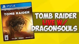 tomb raider ps4 slim gameplay live stream pt14 post game