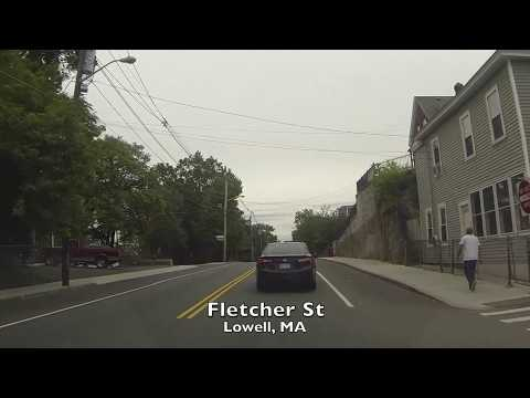 Driving around Lowell, MA
