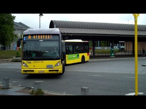 Charleroi Airport Bus A from Charleroi City Centre