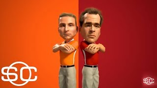 An animated look at Dabo Swinney's and Nick Saban's coaching styles   SportsCenter   ESPN